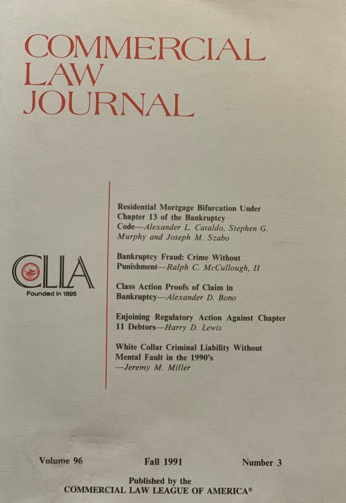 Commercial Law Journal